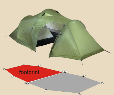 t10 footprint & Tent footprints | Lightwave